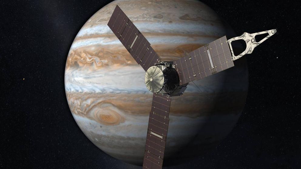 Juno, la misión que llegará a Júpiter para escribir la receta del sistema solar