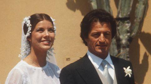 Las veces que Carolina de Mónaco vistió de blanco e inspiró a novias de todo el mundo