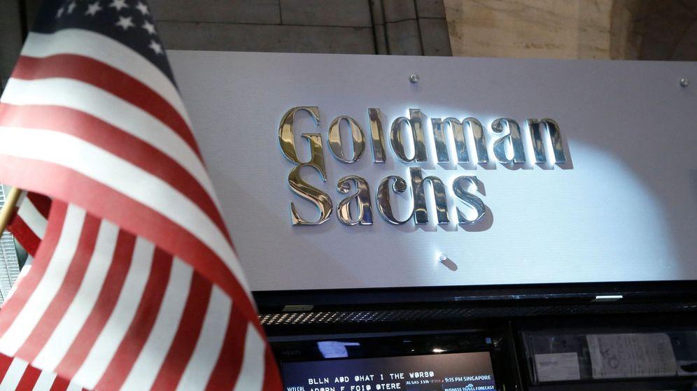 Foto: Logo de Goldman Sachs en Nueva York. (Reuters)