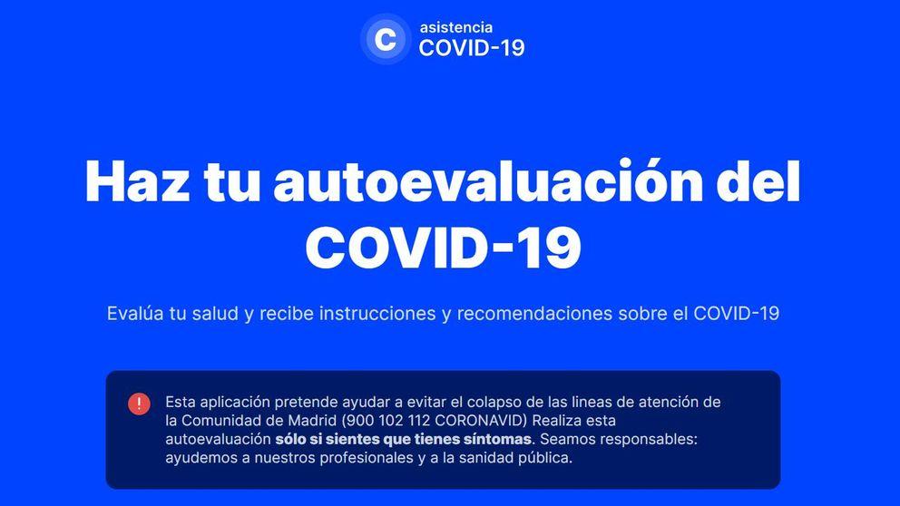 Todo lo que tienes que saber de la 'app' de Madrid para diagnosticar el Covid-19