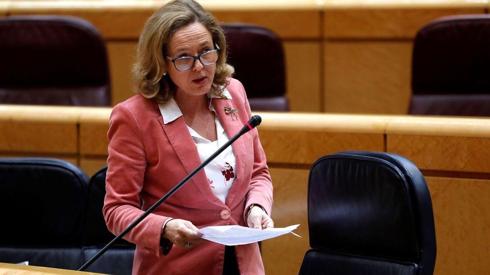 Foto: Nadia Calviño, ministra de Economía (Efe)