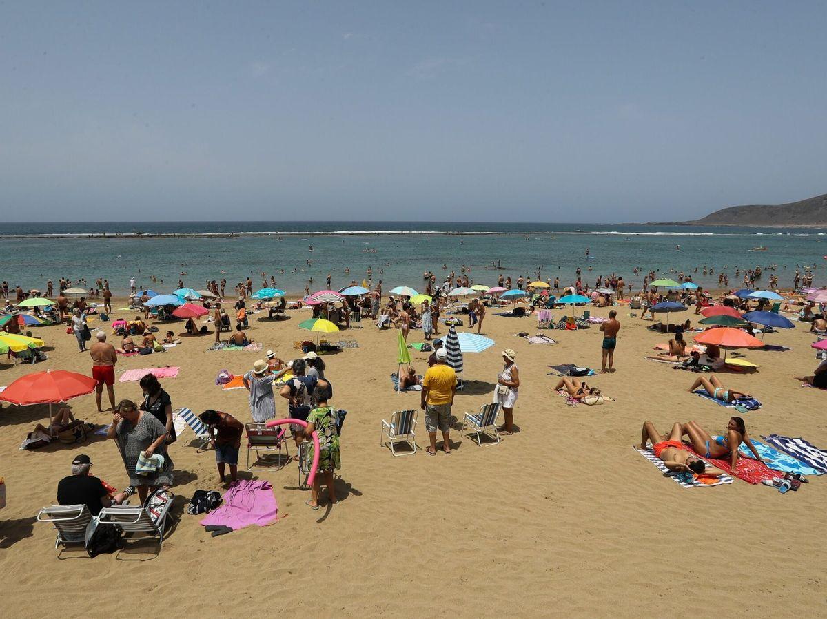 Foto: Playa de Las Canteras, en Las Palmas de Gran Canaria. (EFE)
