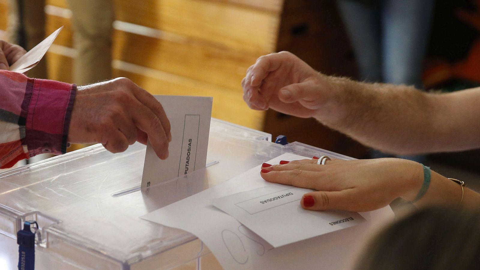 Foto: Últimas elecciones generales en España. (EFE)