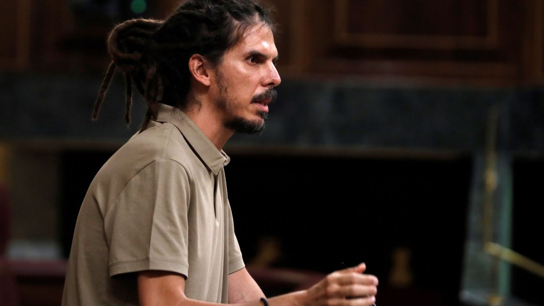 La Fiscalía pide tramitar un suplicatorio en el Congreso para imputar a Alberto Rodríguez