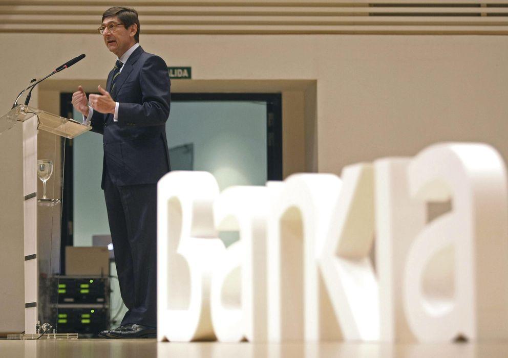 Foto: El presidente de Bankia, José Ignacio Goirigolzarri (Efe)