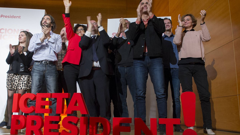Sánchez llama al voto útil para echar a los secesionistas: Si tú no vas, ellos se quedan