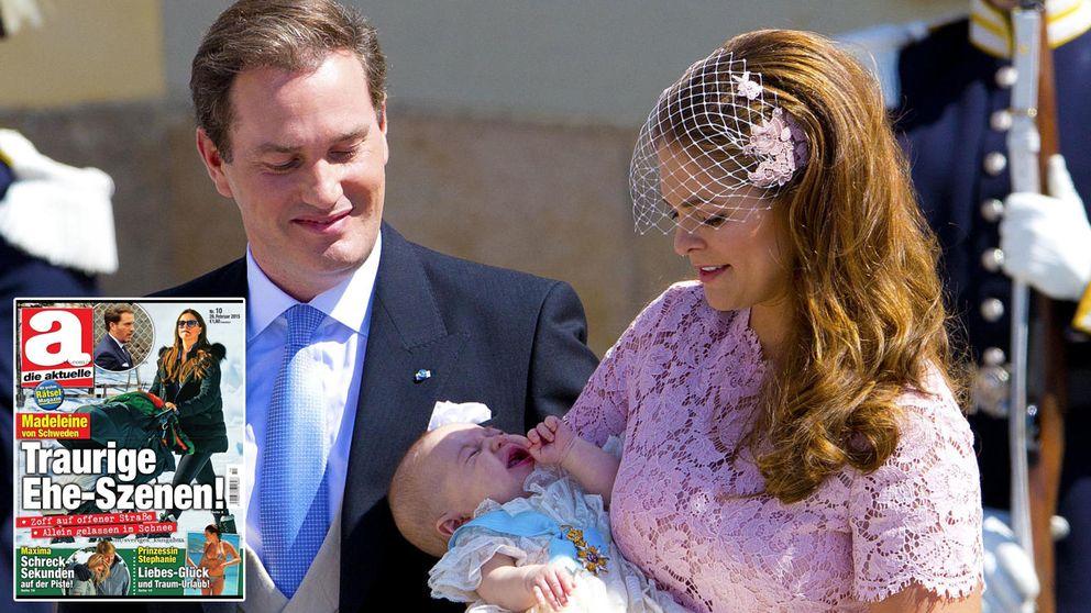 La prensa alemana da por hecho la separación de Magdalena y Chris