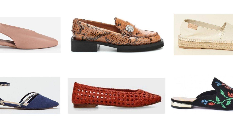 Zapatos planos para todos los gustos.