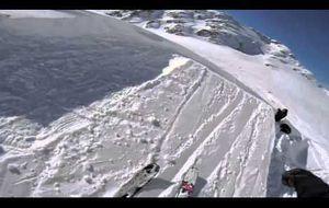La nieve desde un punto de vista espectacular