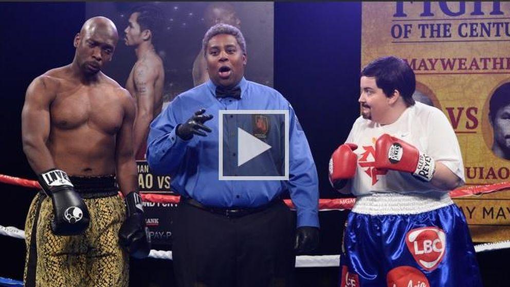 'Saturday Night Live' parodia la pelea entre Mayweather y Pacquiao