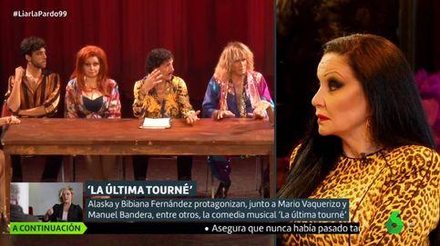 El zasca de Alaska a Mario Vaquerizo en el programa de Cristina Pardo