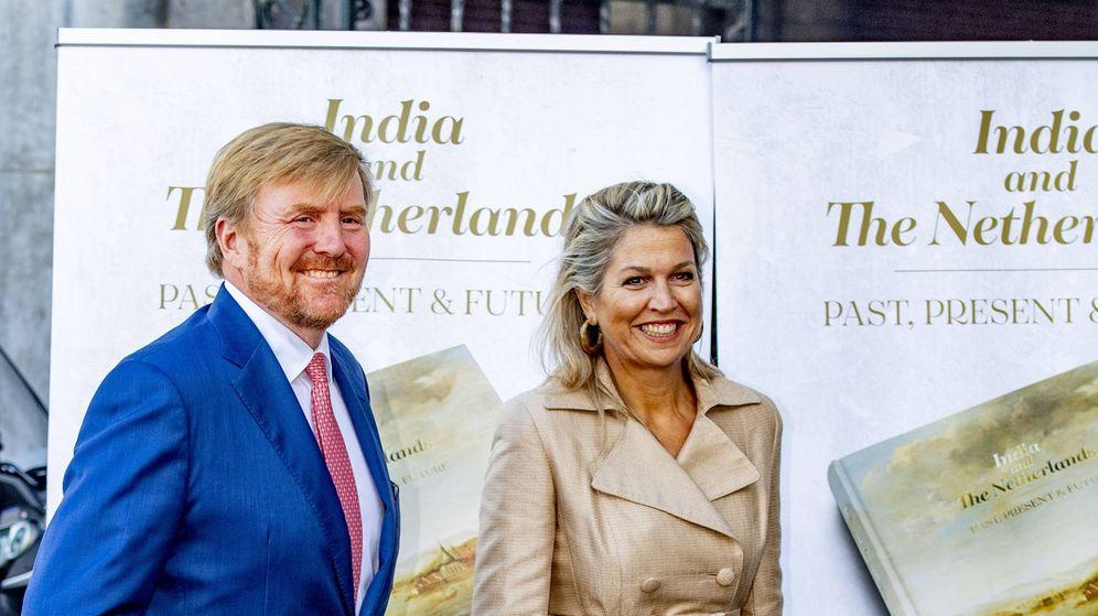 Foto: Guillermo y Máxima de Holanda, este lunes. (Cordon Press)