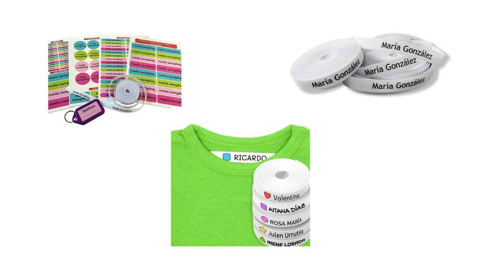 Las mejores etiquetas para marcar la ropa y otros objetos
