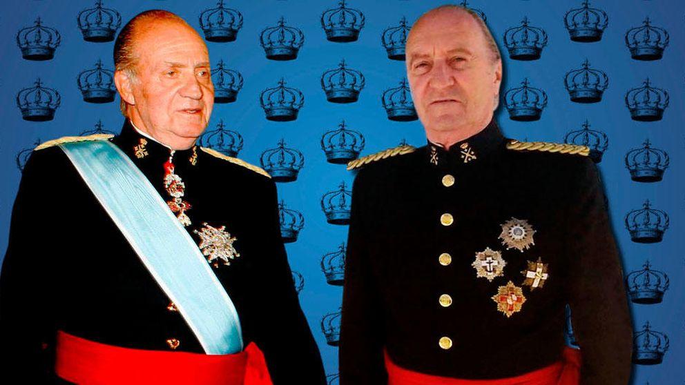 Anima bodas y aguanta broncas: así vive el doble del Rey Juan Carlos