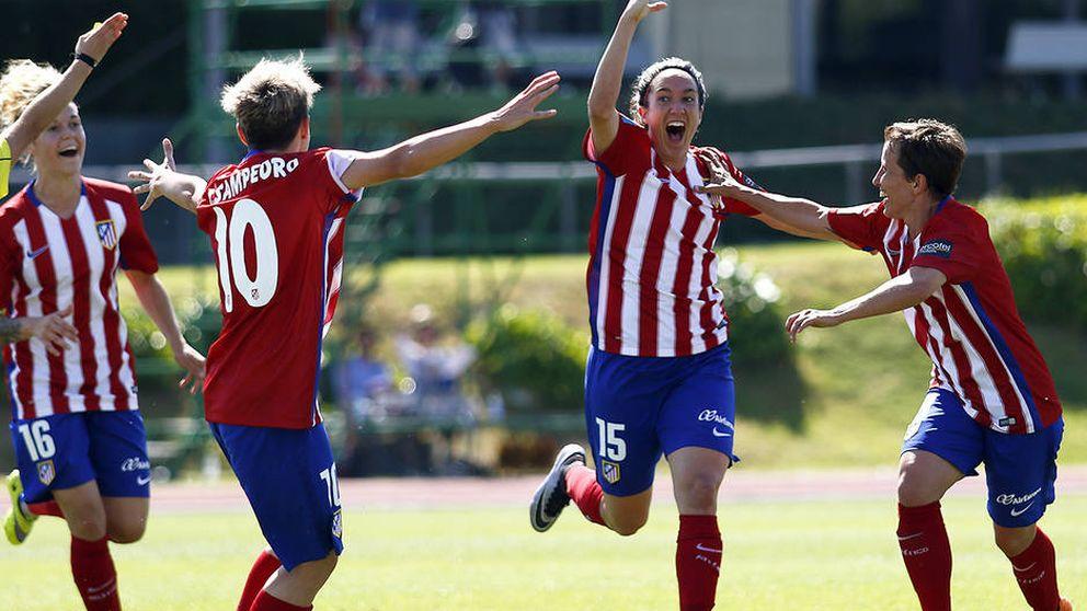 El Atlético de Madrid Féminas gana la Copa de la Reina