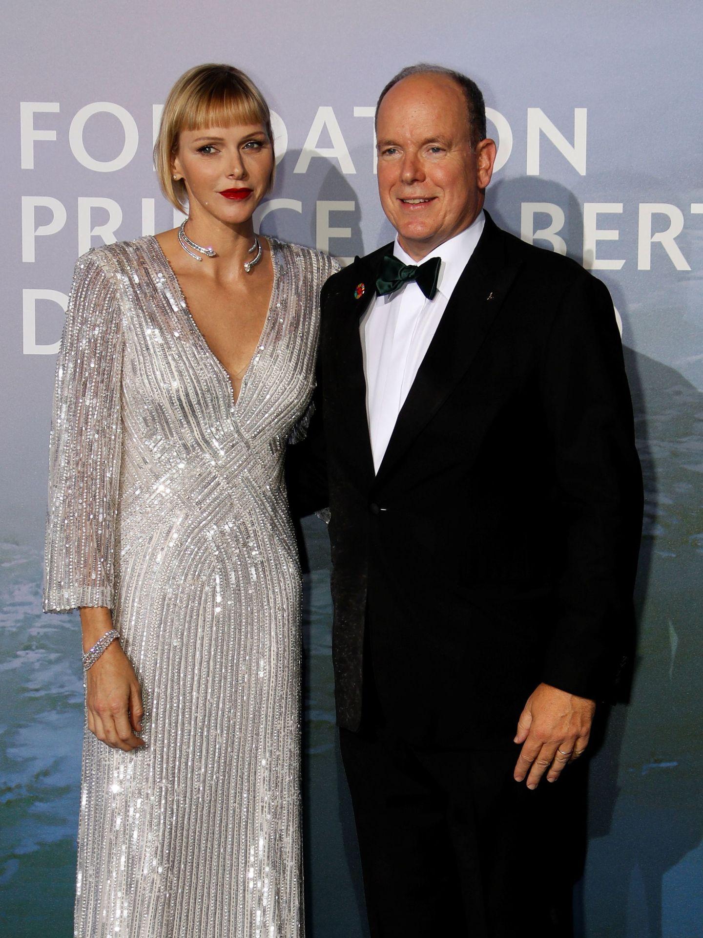Alberto y Charlène, en la gala del año pasado. (Reuters)