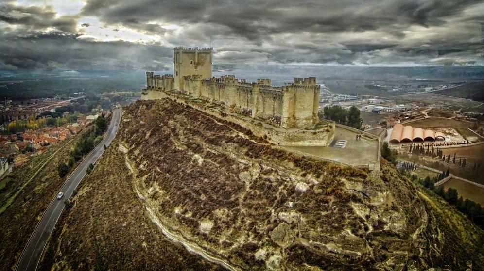 Foto: Castillo de Peñafiel, tierra de vinos.