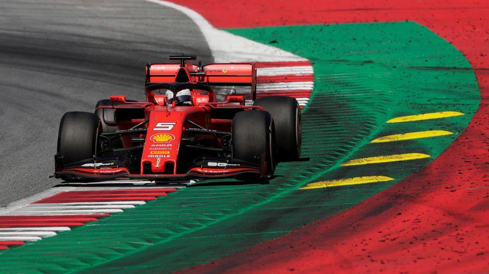 Foto: Sebastian Vettel el pasado fin de semana en Austria. (Reuters)