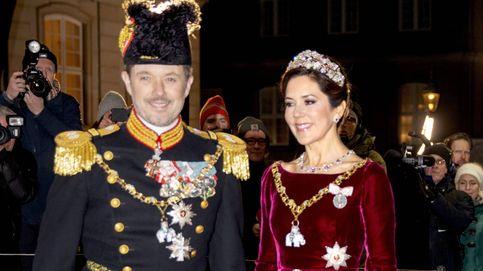 Mary y Marie de Dinamarca, guerra de tiaras y vestidos para comenzar el año