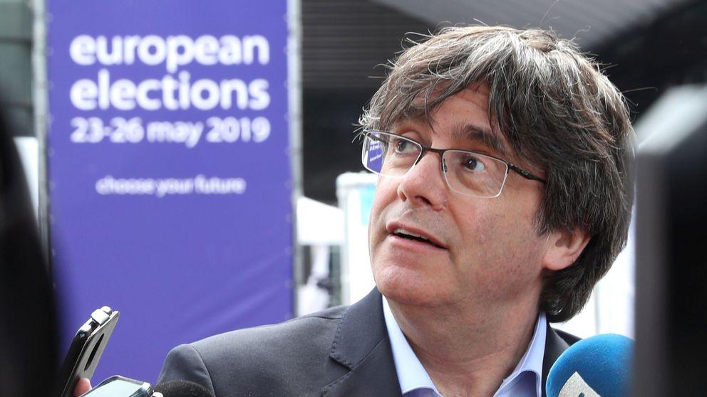 Puigdemont y Comín se quejan a Tajani por impedirles entrar en la Eurocámara