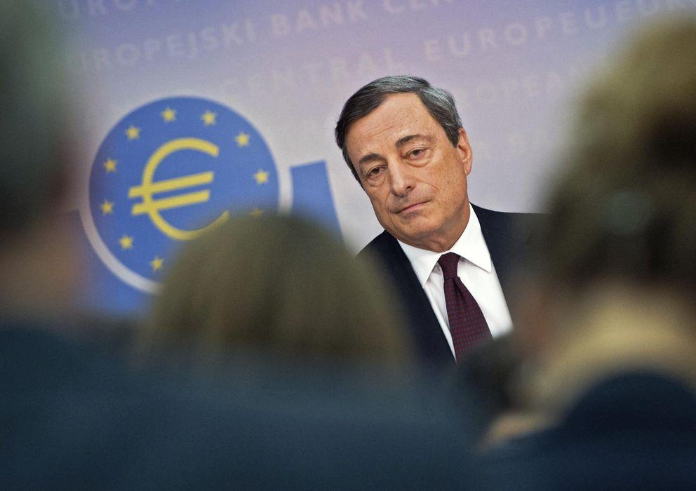 Foto: Mario Draghi, presidente del BCE (EFE)