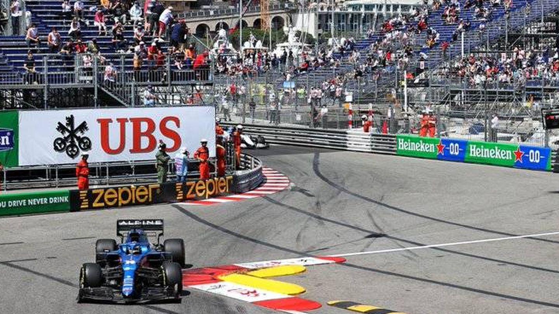 Alonso terminó decimotercero desde la decimoséptima posición de salida.