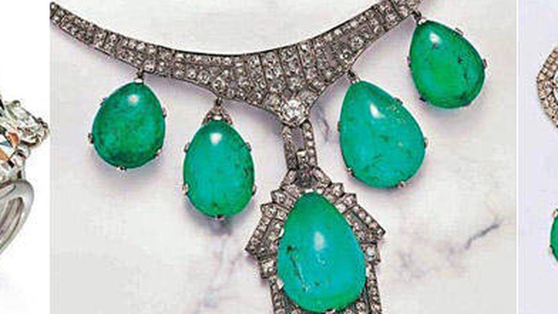 Imagen de las joyas que subasta la familia Franco. (Christie's)