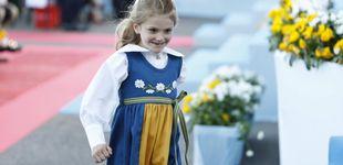 Post de La fotografía más tierna de Estelle de Suecia para su vuelta al 'cole' (y hecha por Victoria)