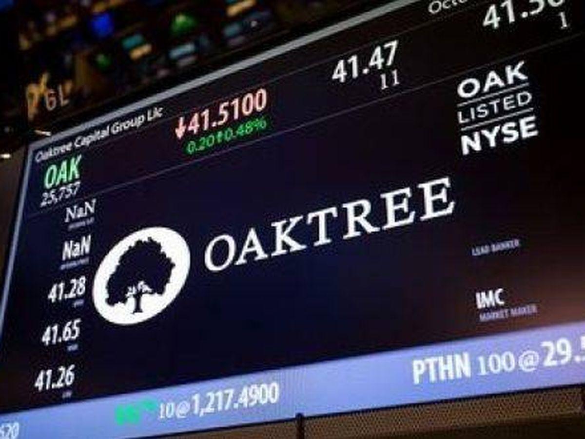 Foto: Imagen de Oaktree en el mercado norteamericano. (Reuters)