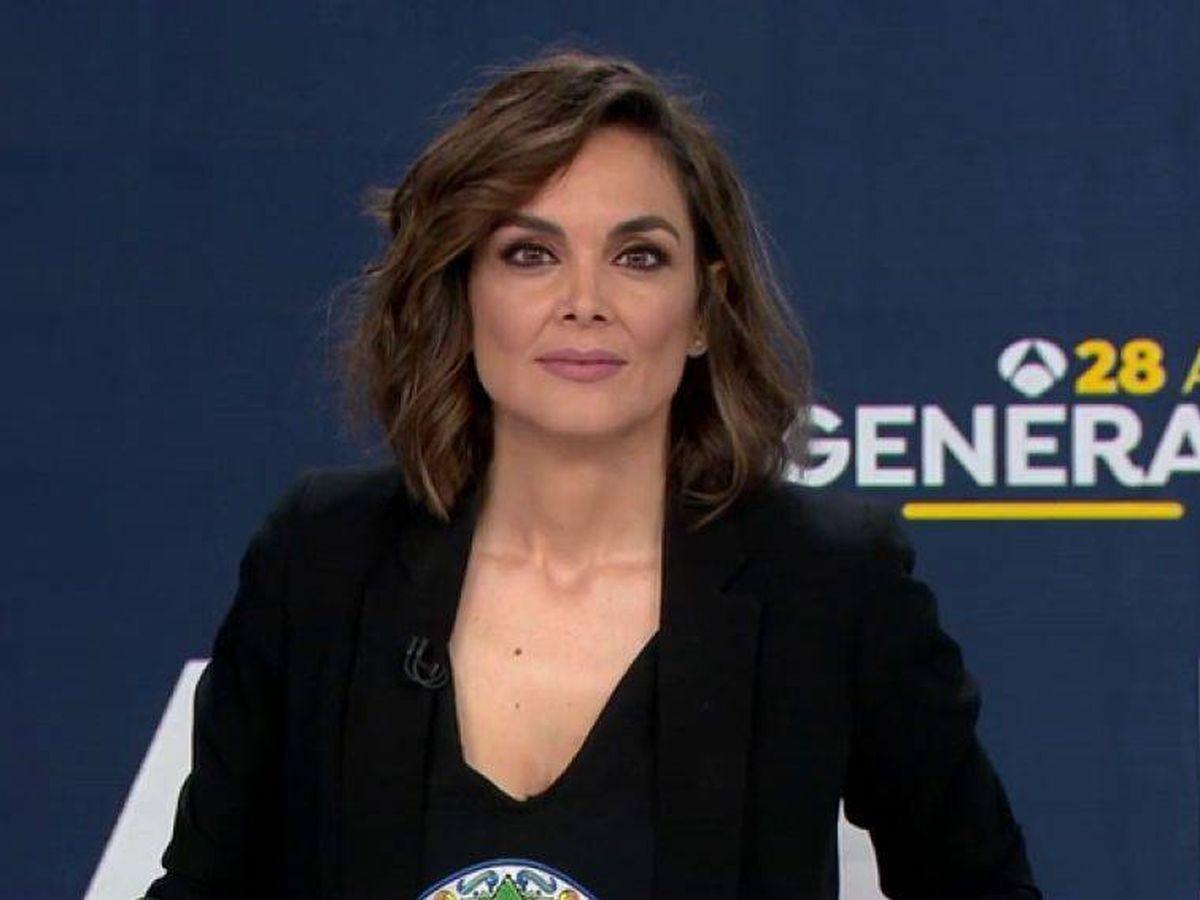 Foto: Monica Carrillo, presentadora de 'Antena 3 Noticias'. (Atresmedia)