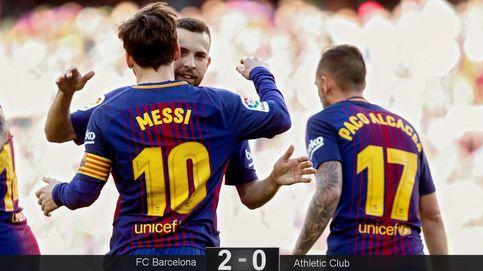 El Barcelona pasa la trituradora contra el Athletic y acerca un poco más la Liga