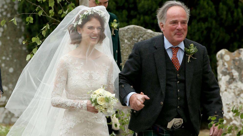 hbo: el espectacular vestido de novia de rose leslie (juego de tronos)