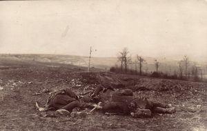 Las trincheras de la I Guerra Mundial (Archivo Europeana)