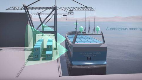 'El Tesla de los mares': el buque eléctrico que navegará por los fiordos sin tripulación