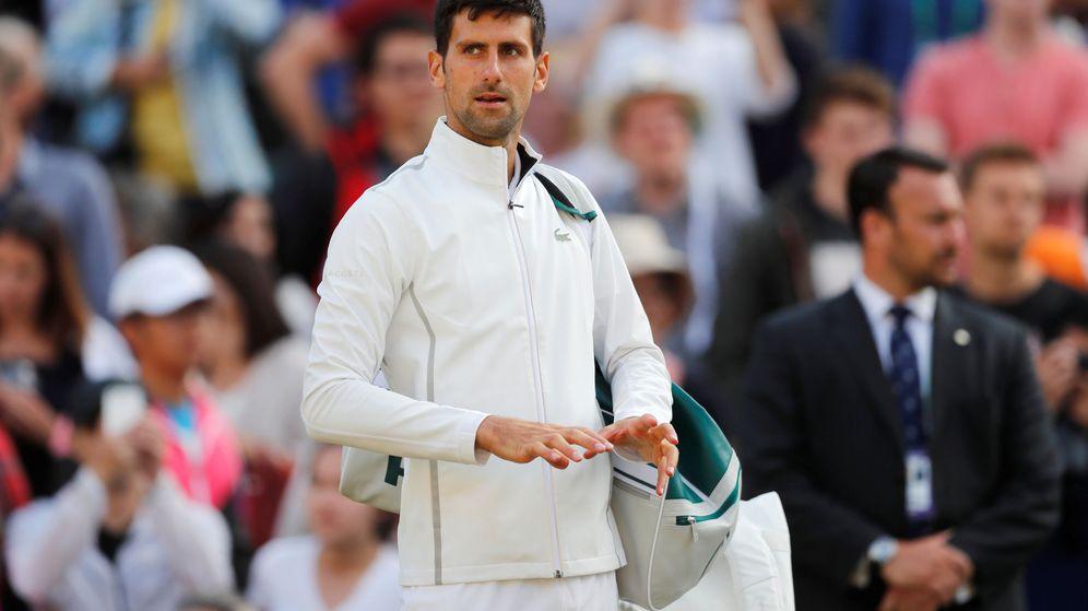 Foto: En Wimbledon, Novak Djokovic tuvo que retirarse en los cuartos de final. (Reuters)