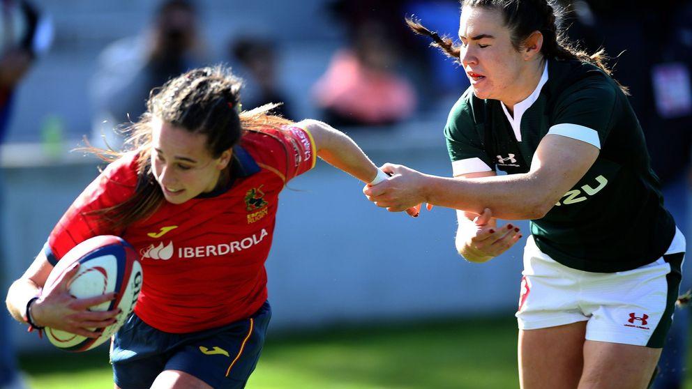 La emotiva arenga de la selección española femenina de rugby para ganar a Gales