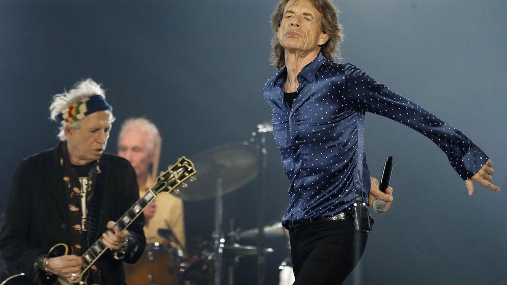 Foto: El concierto de los Rolling Stones en Barcelona. (EFE)