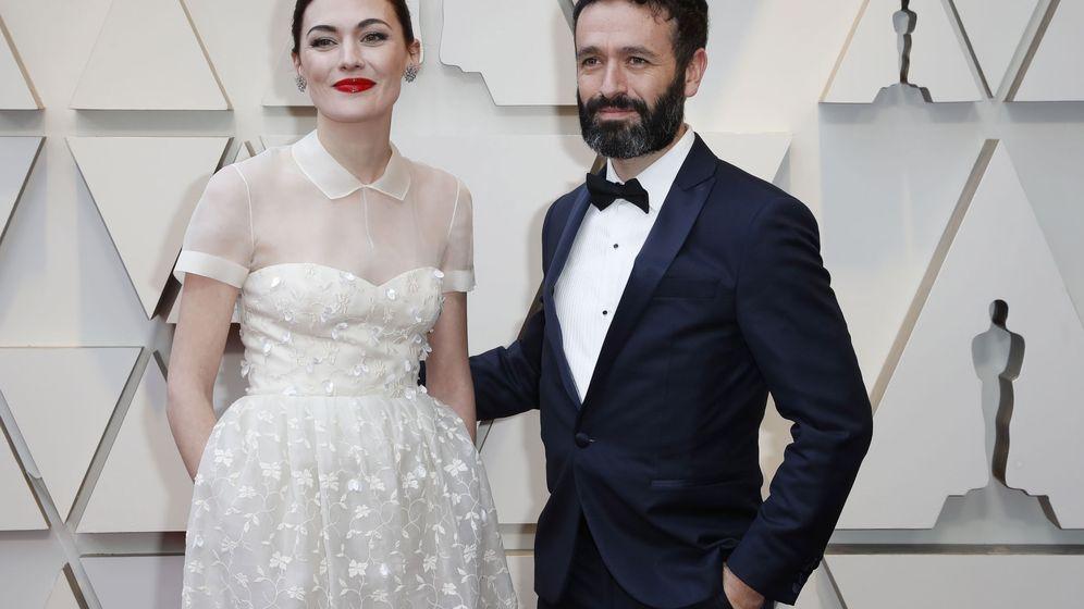 Foto: Marta Nieto y Rodrigo Sorogoyen en la alfombra roja del Dolby Theatre de Los Ángeles. (Reuters)