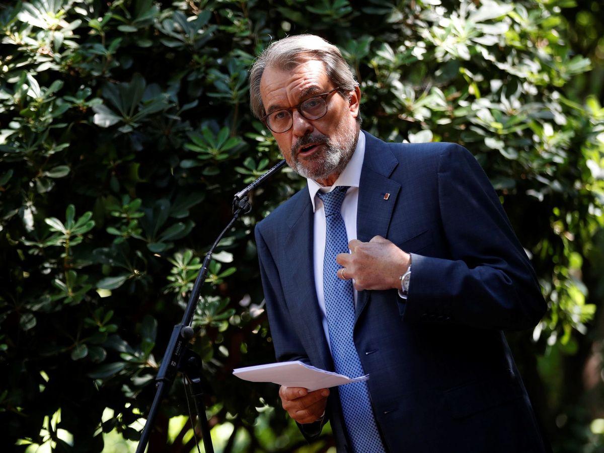 Foto: Fotografía de archivo. El expresidente de la Generalitat Artur Mas. (EFE)