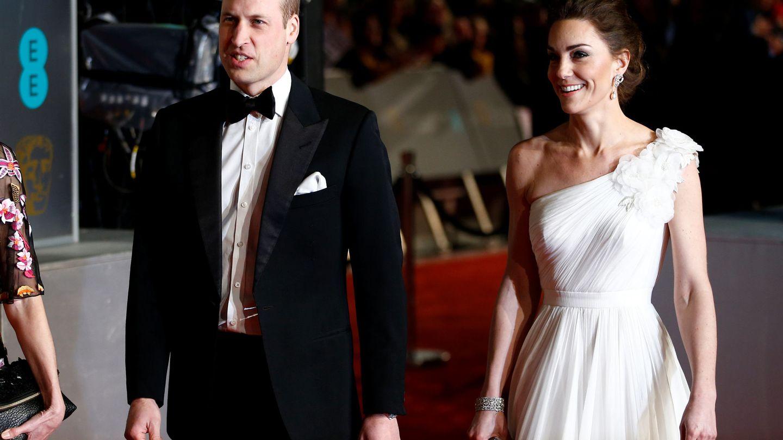Los duques de Cambridge en la última edición de los premios BAFTA. (Reuters)