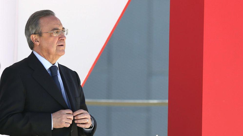 Foto: Florentino Pérez, en una imagen de archivo (EFE)