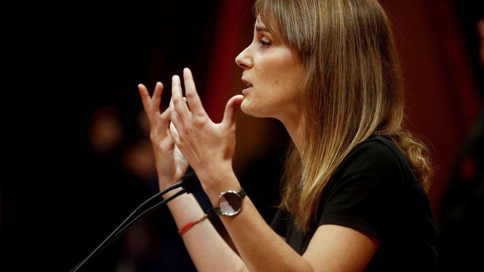 Foto: La presidenta del grupo parlamentario de Catalunya en Comú Podem, Jessica Albiach (EFE)