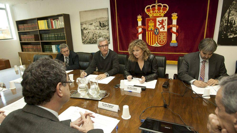 Foto: La exsubdelegada del Gobierno Teresa Pallarès (2ºd). (EFE)