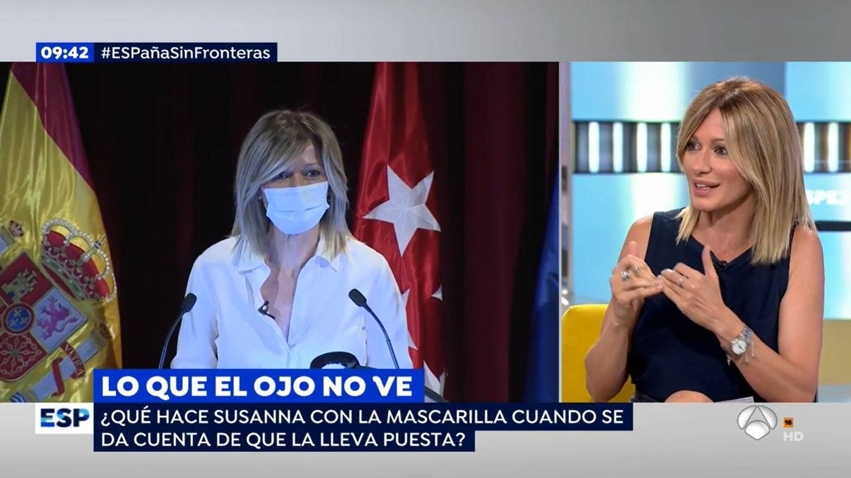 Susanna Griso, presentadora de 'Espejo público'. (Atresmedia)
