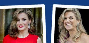 Post de Estilo Real: los estilismos de gala de Máxima y Letizia, a examen