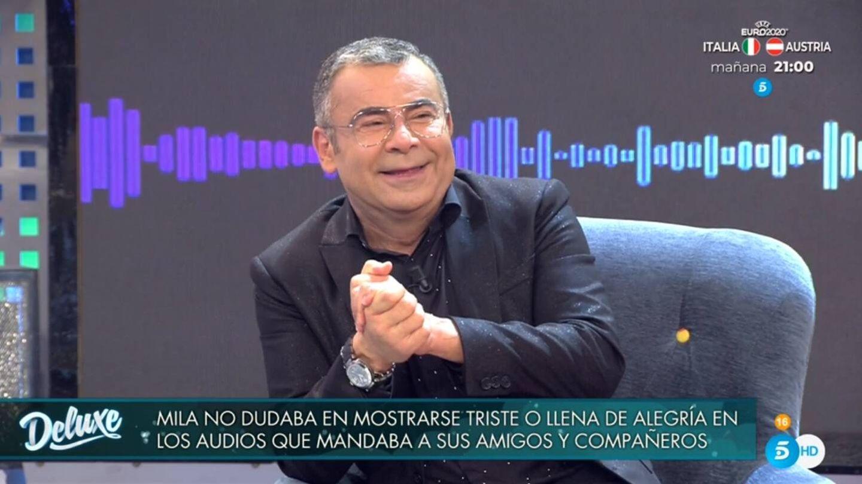 Jorge Javier, en 'Viernes Deluxe'. (Telecinco).