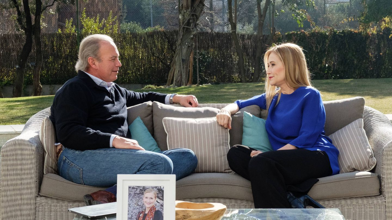 Bertín Osborne y Cristina Cifuentes. (Telecinco)