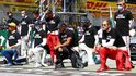 Los pilotos de F1 se hartan de las críticas por no seguir el activismo de Hamilton