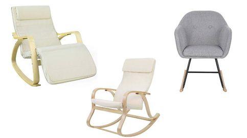 Las sillas mecedoras más cómodas para dar el pecho a tu bebé