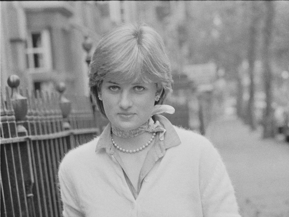 Foto:  Una joven Diana Spencer, en 1980. (Getty)